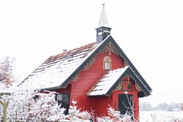 sneeuw westerkerkje