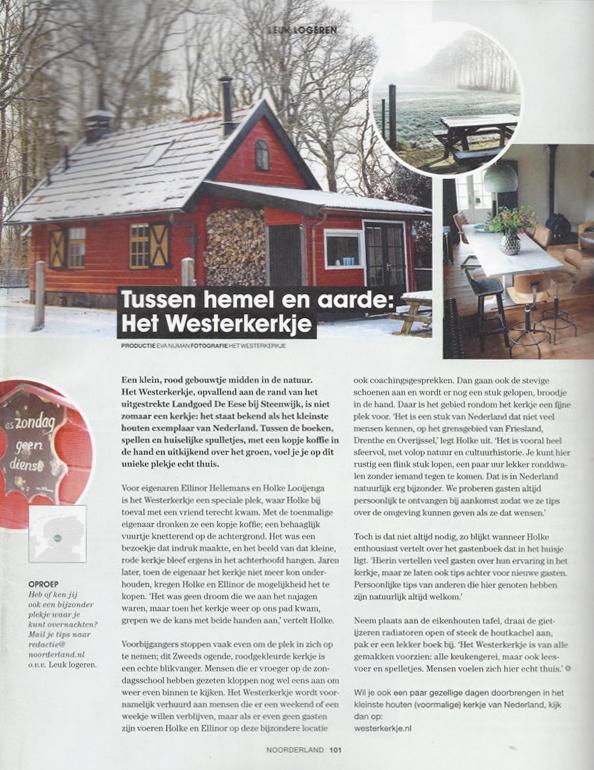Westerkerkje op Noorderland online magazine